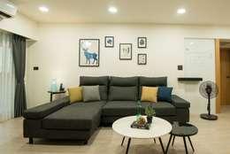 沙發:   by 寬軒室內設計工作室