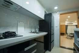 廚房:   by 寬軒室內設計工作室
