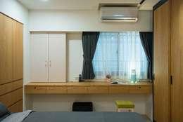 臥室:   by 寬軒室內設計工作室