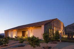 Casa Cuatro Aguas : Casas de estilo rústico por Dx Arquitectos