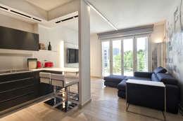 غرفة المعيشة تنفيذ Studio Atelier di Silvana Barbato