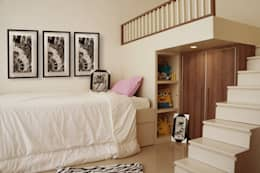 Graha Natura AB show unit: modern Bedroom by KOMA living interior design