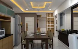 غرفة السفرة تنفيذ shree lalitha consultants