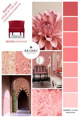 Salas de estilo ecléctico por BRABBU Design Forces