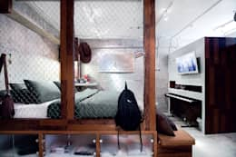 Industrial London inspired apartment:  Kamar Tidur by SATTVA square