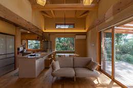 リビング: 安藤建築設計工房が手掛けたリビングです。