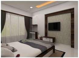 Our Work: modern Bedroom by Shrishti Associates