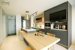 rustic Kitchen by cocina