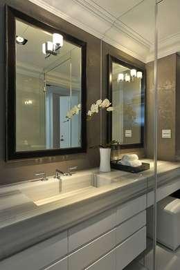 次衛浴:  浴室 by 原形空間設計