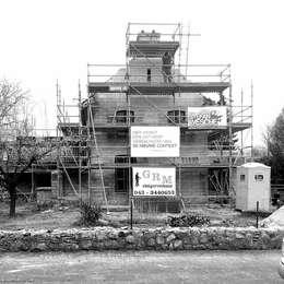 Gevel renovatie:  Villa door De Nieuwe Context
