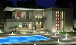Private Houses: modern Pool by M/s GENESIS