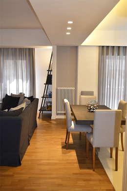 Salas de jantar modernas por danielainzerillo architetto&relooker