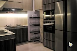 بلٹ ان باورچی خانہ by BB Studio Designs