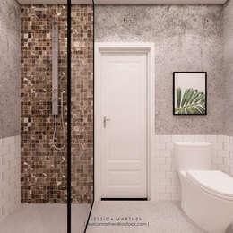 Baños de estilo tropical por JESSICA DESIGN STUDIO