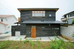長崎 大村 /  焼杉の家: HAGが手掛けた家です。