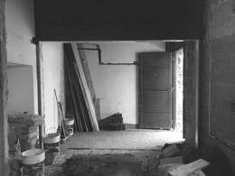 Avance de obra: Livings de estilo minimalista por Casa Meva Estudio