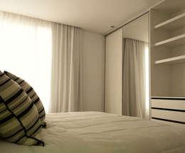Casa Rajcic - Fiorito: Dormitorios de estilo moderno por Estudio Victoria Suriguez