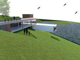 CASA RAPEL: Casas unifamiliares de estilo  por Arc Arquitectura
