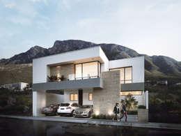 Residencial Cantizal : Casas de estilo moderno por Vivalia Desarrollos