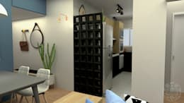 Cocinas de estilo moderno por COB Arquitetura e Design
