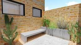 Jardim Interno: Jardins rústicos por Richard Aléxis Silva