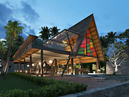 the gili resort:   by e.Re studio architects
