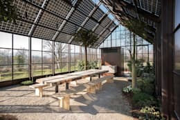 Jardines de invierno de estilo rural por zanon architetti associati