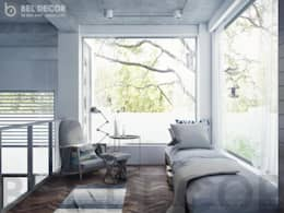 Relax Area:   by Bel Decor