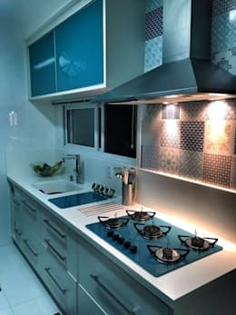 Cocinas de estilo moderno por PILOTTIZ ARQUITETURA E DESIGN