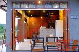 ร้านกาแฟ CHiM Cafe (ร้านชิม) - อำเภอปากท่อ - ราชบุรี - คุณชัย :  ตกแต่งภายใน by เป็นหนึ่งดินเผาไทยดีไซน์