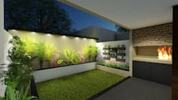 minimalistic Garden by Arquitecto Leandro Puy