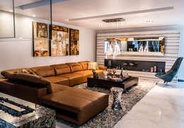 Salas de estar modernas por STUDIO COCOONS