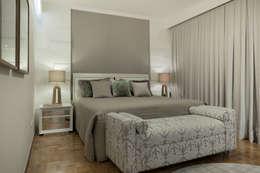 Recámaras de estilo moderno por Maluf & Ferraz interiores