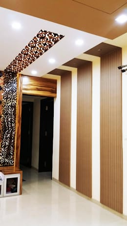 Nill Hills:  Corridor & hallway by Finch Architects