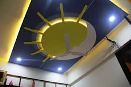 Kid's Room-False Ceiling:  Baby room by Finch Architects