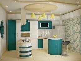 Independent Bungalow, JP Nagar - Mr.Raghu: classic Kitchen by DECOR DREAMS