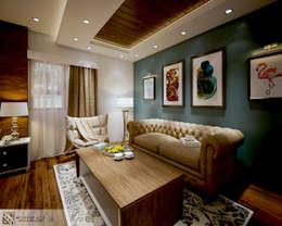 غرفة نوم تنفيذ WORKSPACE architects & interior designers