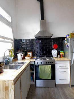 Remodelacion Final Cocina.: Cocinas de estilo moderno por Dsg Arquitectura | Renders