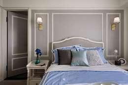 Cuartos de estilo rural por 理絲室內設計有限公司 Ris Interior Design Co., Ltd.