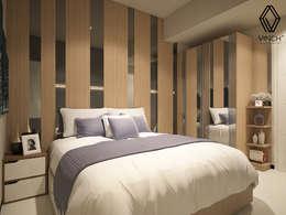 Dormitorios de estilo moderno por Vinch Interior