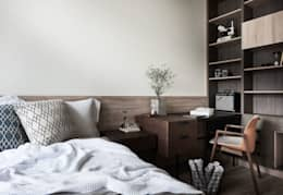 scandinavian Bedroom by 理絲室內設計有限公司 Ris Interior Design Co., Ltd.
