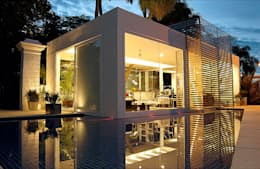 أبواب زجاجية تنفيذ Izilda Moraes Arquitetura