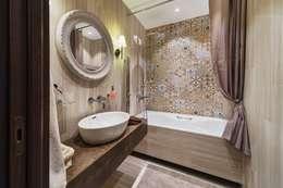 Baños de estilo industrial por Галина Глебова