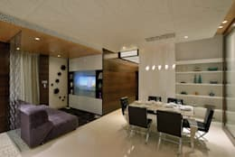 Heera Blue Water: modern Dining room by SM Studio
