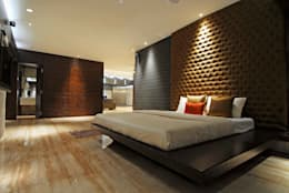 Bandra Residence: modern Bedroom by SM Studio