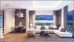 modern Living room by ITALIC DECOR