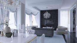 Salas de estar clássicas por Magic Mimarlık