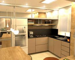 Cocinas de estilo moderno por MQ Design Interiores