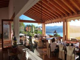 Casa PT-A: Comedores de estilo minimalista por VÁZQUEZ DEL MERCADO - ARQUITECTURA