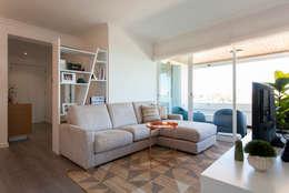 Salas de estilo moderno por Traço Magenta - Design de Interiores